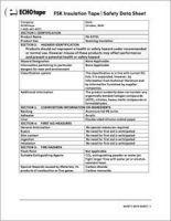 ECHOtape R 3035 FSK Insulation Tape Safety Data Sheet_SDS.pdf