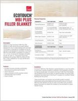 Owens Corning_EcoTouch Certified MBI Plus Filler Blanket-10002179_Product Data Sheet.pdf