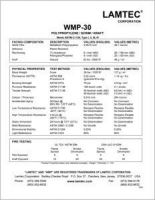 Lamtec WMP-30 TechDataSheet.pdf