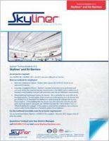 Skyliner_TechBulletin013-Skyliner and Air Barriers